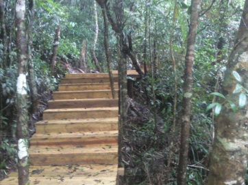 Nature Preserve central island