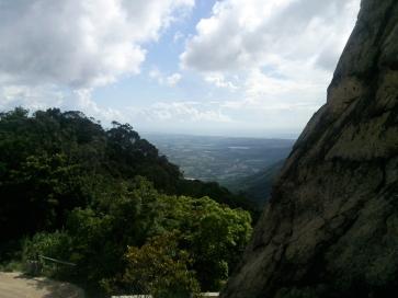 View above Sanya