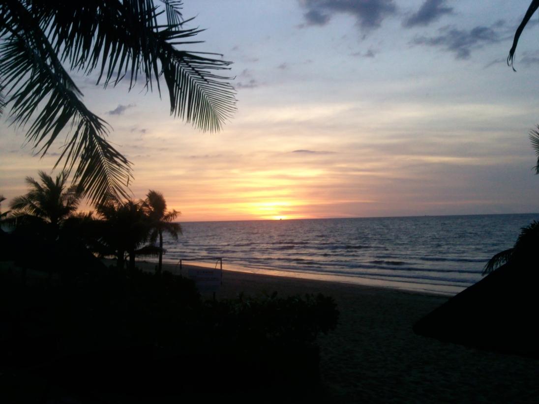 Beach resort central east